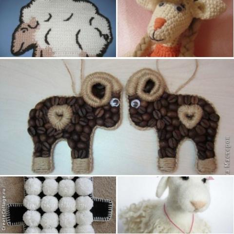Поделки овечки с козами (подборка идей)