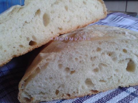 Чиабатта - домашний хлеб без замеса!