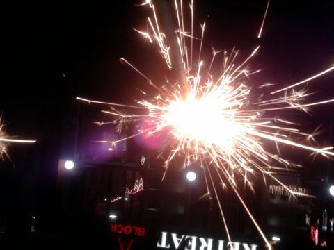 Улицы Джайпура в праздник Дивали.