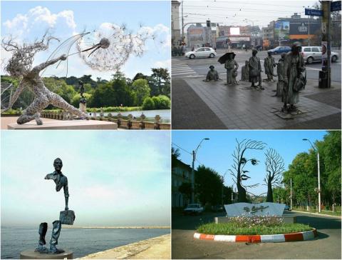 30 самых оригинальных статуй…