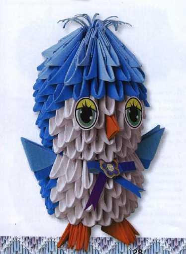 """""""Птенчик"""" - модульное оригами."""
