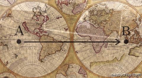 Из пункта А в пункт Б. Экскурс в однобуквенную географию