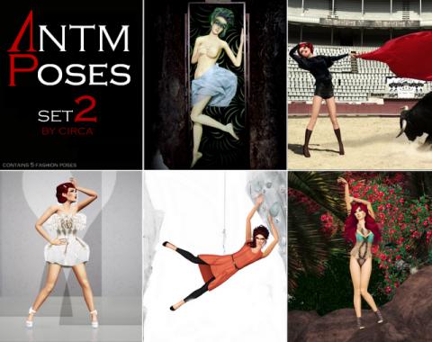 Сет поз ANTM fashion 2 от Circa