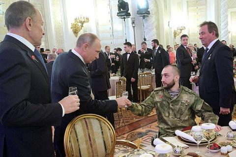 Владимир Путин снова собрал …