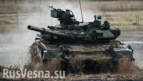 СРОЧНО: Позорные пуски американских ракет по российской технике, боевики атаковали «101-й» танк Т-90 и ТОС «Солнцепек» (ВИДЕО)