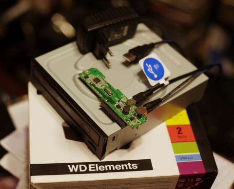 Как подключить стандартный dvd привод