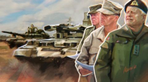 Военное доминирование Москвы…