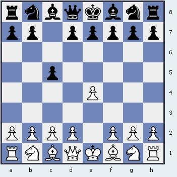 1.e4 c5 Сицилианская защита
