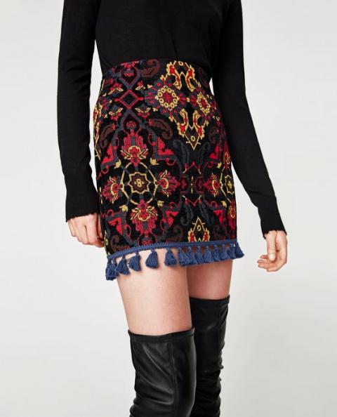 С чем носить нарядную юбку к…
