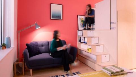 Внутри «микро квартиры будущего» площадью 19 кв. метров