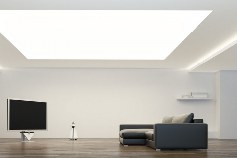 Светящийся потолок: как и из…