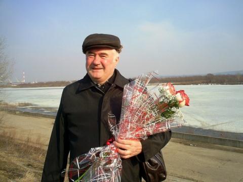 Поэт ГЕРУН  в   РОССИИ на реке ОКЕ