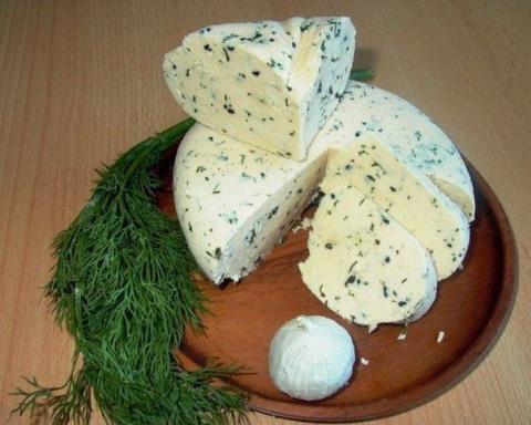 Замечательный рецепт домашнего сыра