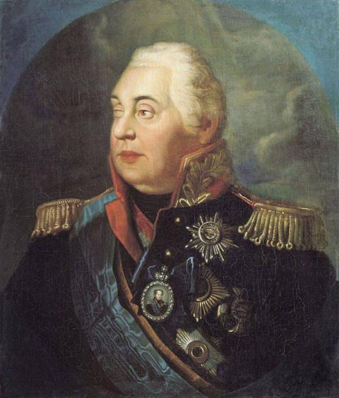 При таком генерале, как Кутузов, Россия может быть спокойна