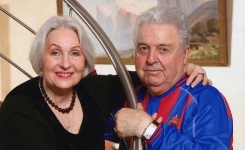 Михаил Танич и Лидия Козлова…
