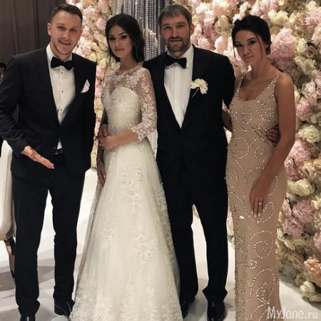 Александр Овечкин и Анастасия Шубская сыграли свадьбу
