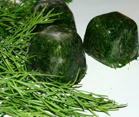 Заморозка зелени, овощей