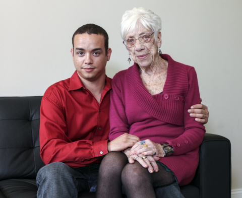 Ему 31, ей — 91! И их любовь…