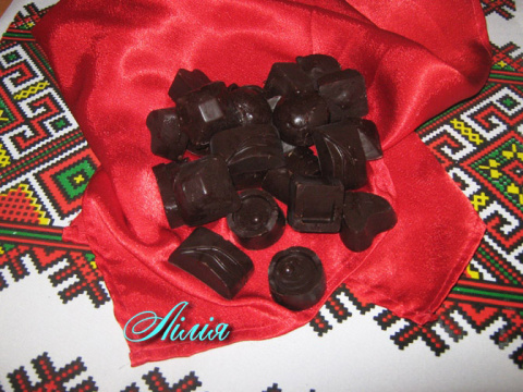 Шоколадные конфеты своими руками.
