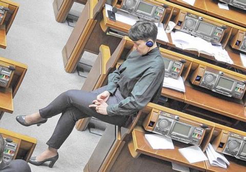 Савченко на каблуках – навод…