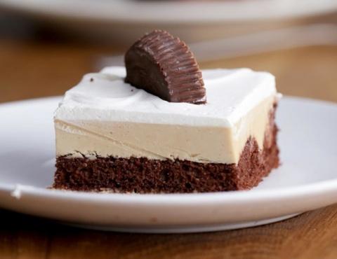 Нежный шоколадно-арахисовый …