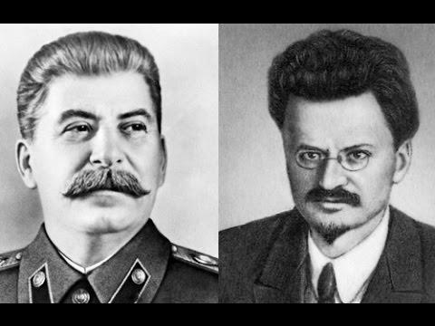 Сталин и Троцкий - политичес…