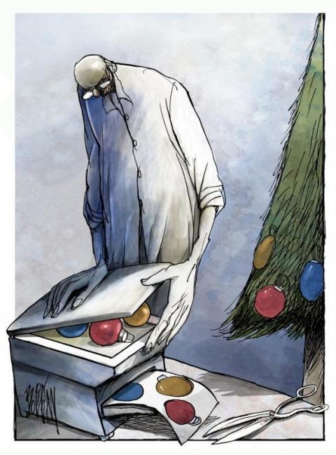 Сюрреалистичная и обескураживающая ирония карикатуриста Анхеля Болигана