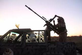 Террористы сбили ливийский МиГ-23