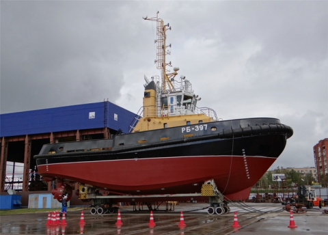 Буксир РБ-937 вошел в состав Каспийской флотилии ВМФ России