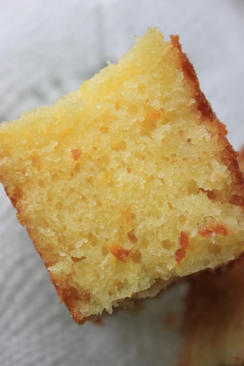 Пирог с соком цитрусовых