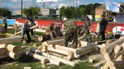 Праздник топора 2011 в Томске