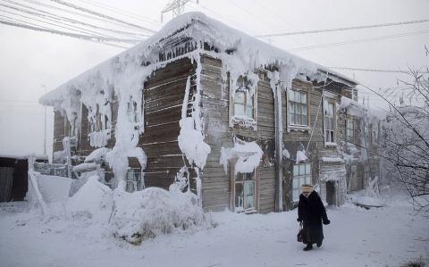 Холодный Якутск в объективе иностранца