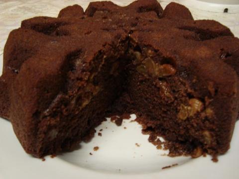Шоколадный пирог (постный)