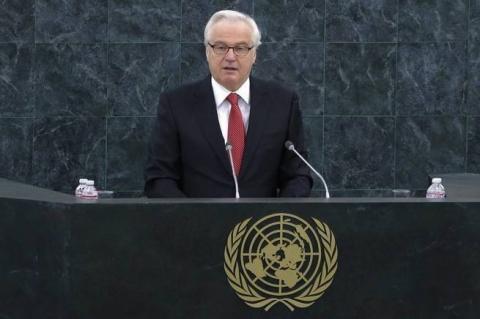 Чуркин осадил британца в ООН…