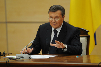 Янукович предложил вынести на референдум вопрос о статусе Донбасса