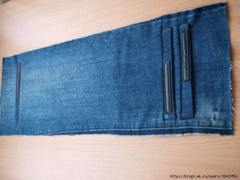 Сумка из старых джинсов. Вторая жизнь старых вещей