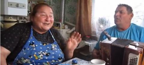 Валера и Зоя. Русские люди никогда не грустят