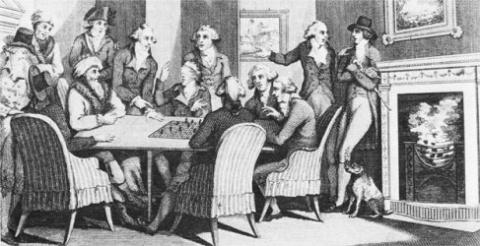 Игра в шахматы. Филидор