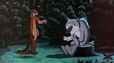 Съемки мультфильма «Жил был пес» на видео