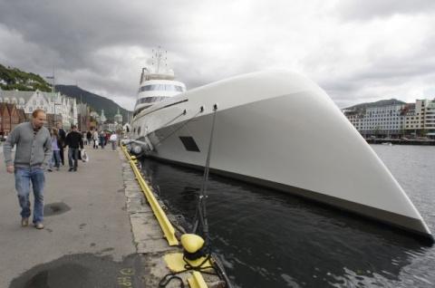 Самая крупная в мире яхта ру…