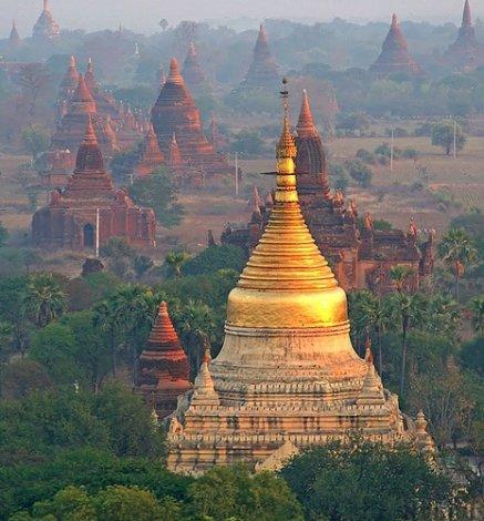 Паган - город миллиона храмов.
