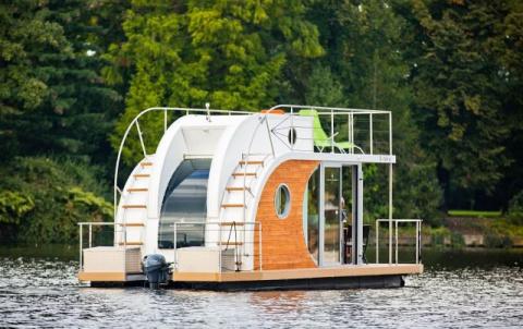 Плавучий дом Nautilus Mini