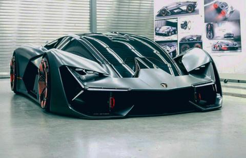 Суперкар будущего с «вечным» кузовом