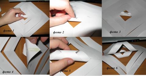 3 d снежинки из бумаги своими руками