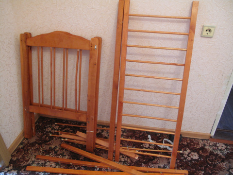 Новая жизнь старой мебели...продолжение