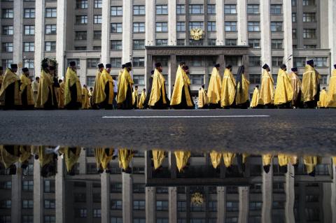 Православные христиане создадут в России свое первое политическое движение