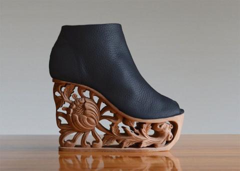 Удивительная обувь от LanVy Nguyen — настоящие произведения искусства