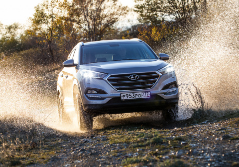 Hyundai «зарядит» Tucson