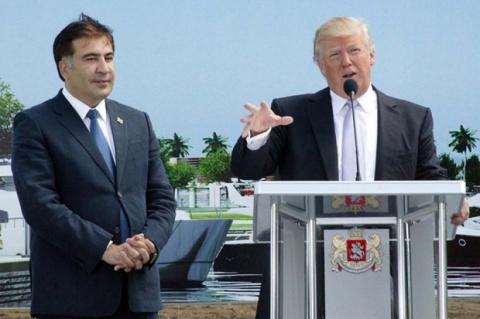 Первый удар Трампа по России: Саакашвили - следующий президент Незалежной