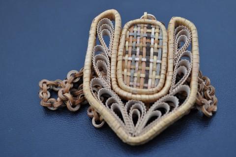Фото авторских украшений из Бересты Кутрынина Александра